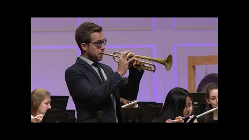 Leroy Anderson: A Trumpeter's Lullaby | Wheaton College Symphonic Band with Brandon Ridenour