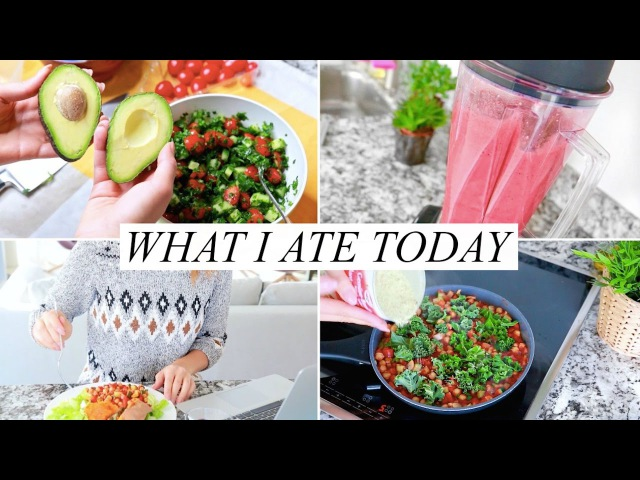 WHAT I ATE TODAY! Healthy Easy | Annie Jaffrey