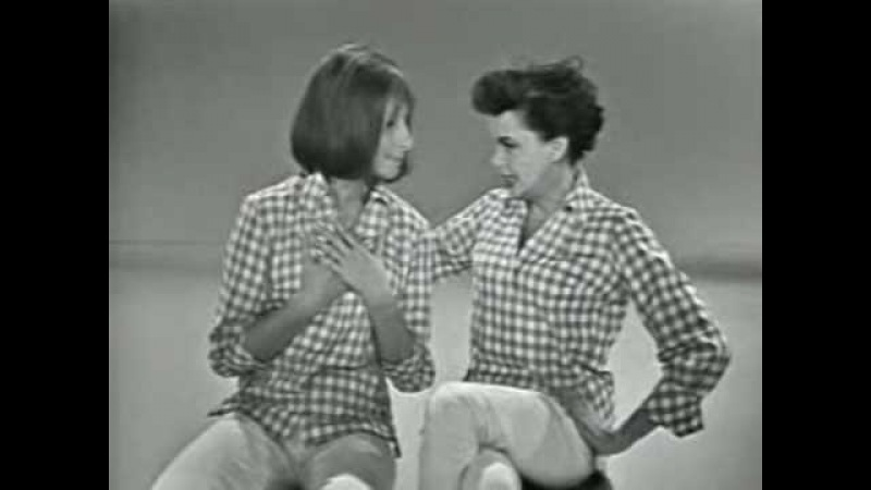 A MEDLEY, JUDY GARLAND BARBRA STREISAND.THE COMPLETE 'HOORAY FOR LOVE' SEQUENCE.