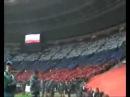 Гимн на матче Россия Англия весь стадион поёт