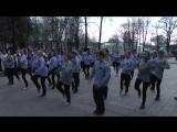 Флешмоб танец в тельняшках 8 мая 2015г. г.Боровичи