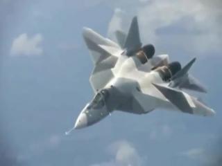 Истребители ПАК ФА (Т-50) и Су-47 Беркут (Российские Технологии -  Равных нет )