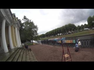 Съёмки клипа Тучи в Питере. Михайловский сад / Мойка ActionCamera 4