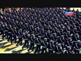 РВВДКУ и 331гв.ПДП на параде 09.05.2015