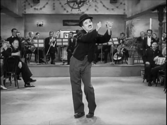 Chaplin Modern Times non-sense song