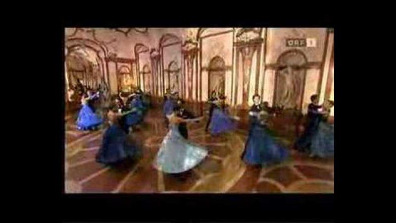 Знаменитый вальс Синий Дунай Штраус Сильвестр 2008 Famous Waltz Blue Danube Strauss Silvester 2008