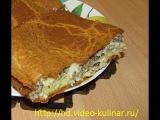 Быстрый рыбный пирог из консервов - просто и вкусно!