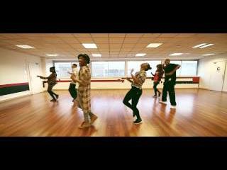 Aminata Crazystyle // Nasty remix (Janet Jackson) // Studio MRG (Paris-France) // Hip hop Class