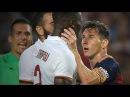 CRAZY Leo Messi vs Mapou Yanga-Mbiwa (Barcelona vs Roma)