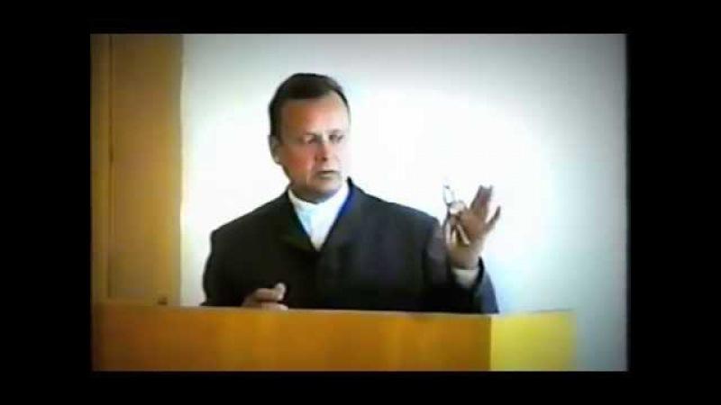 Ректор института о Боге и Иисусе (Ефимов В.А.)