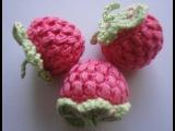 Ягода малины Вязание крючком Raspberry Crochet