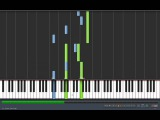 Naruto Shippuuden-Man of the world Piano version Tutorial