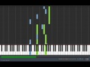 Naruto Shippuuden-Man of the world [Piano version] Tutorial