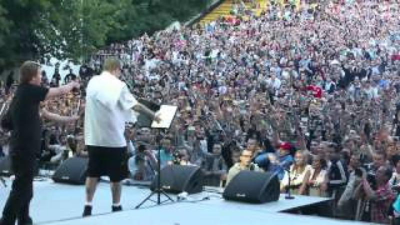 Баста / Гуф - концерт в Зеленом Театре 19 июля 2012