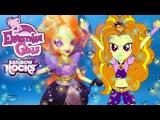 My Little Pony Equestria Girls поющая Адажио Даззл из серии Rainbow Rocks Эквестрия Герлз