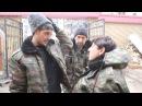 Гиви Говорит С Девушками, Стреляет Автомат По Аэропорту Донецка