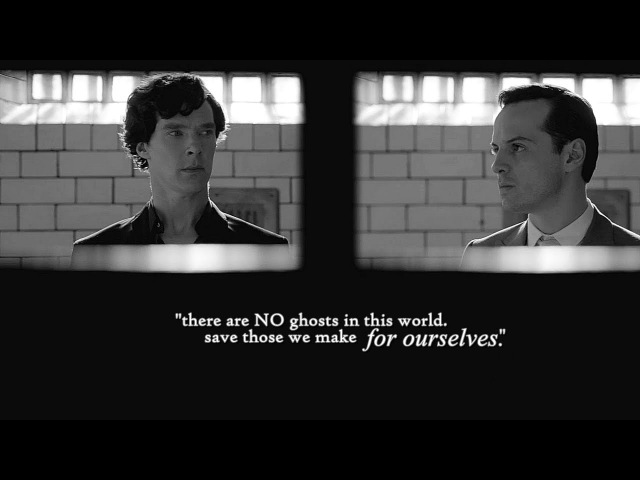Sherlock/Moriarty [You're the only one that's understood]