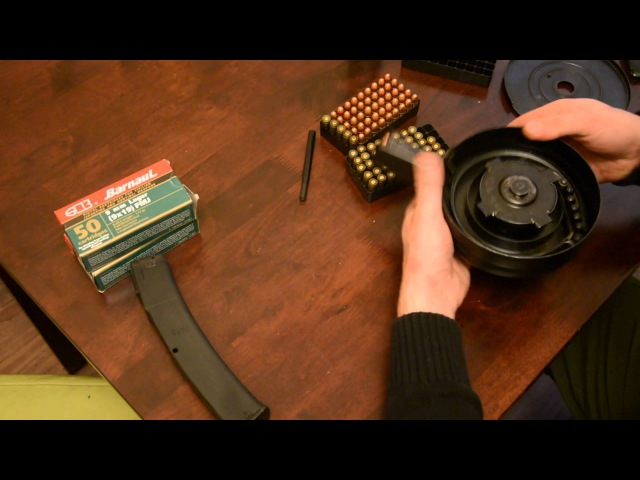 Бубен для Сайги/Витязя 9x19 ( Saiga/Vityaz 9mm dru