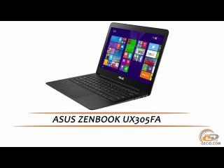 ASUS ZENBOOK UX305FA - видеообзор ультрабука
