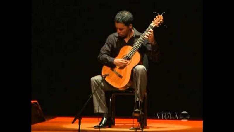 Jorge Caballero plays Bach Fantasia Cromática e Fuga (Movimento Violão)