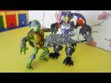 Черепашка Ниндзя и роботы. Видео для детей с игрушками