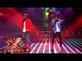 Cheryl thinks Reggie 'N' Bollie are Dynamite Live Week 5 The X Factor 2015