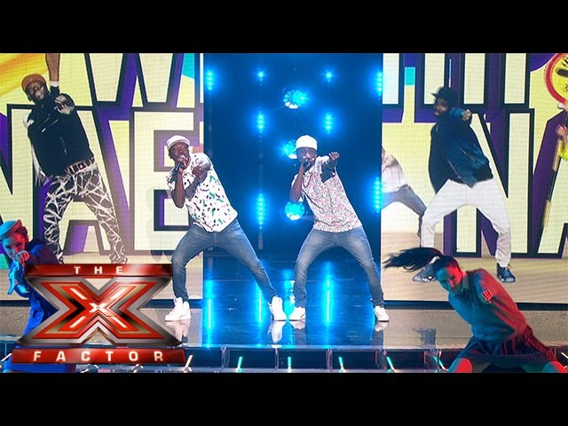 Watch Reggie N Bollie Whip... Watch them Nae Nae | Live Week 5 | The X Factor 2015