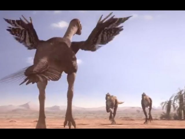 Oviraptorid Fights to Protect Nest | Planet Dinosaur | BBC Earth