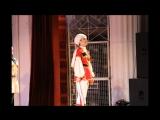Юбилейный концерт ансамбля песни и пляски Краснознамённого Северного флота . Солистка Кристина Котишевская