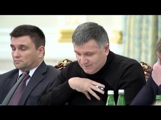 Молния! Аваков обнародовал видео конфликта с Саакашвили