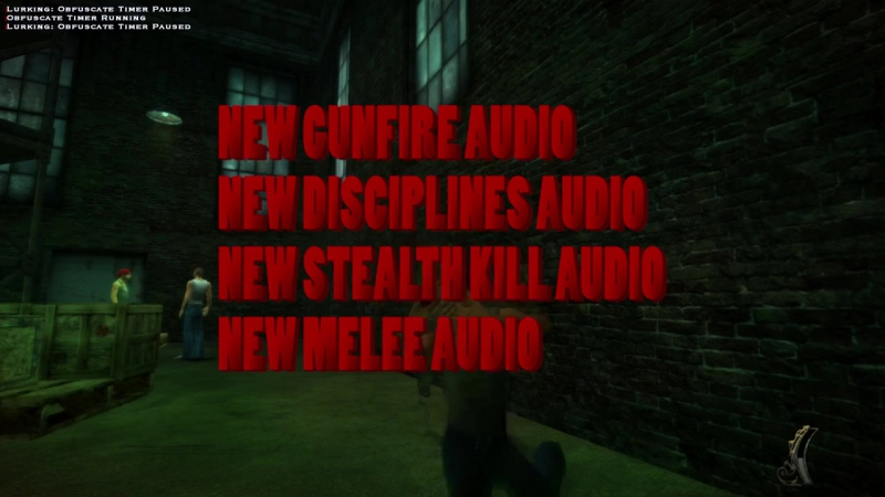 Bloodlines Audio Overhaul Mod (v2.0 Release Showcase) [720p]