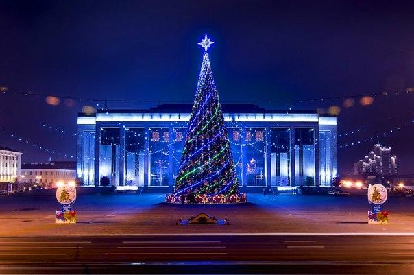 План праздничных мероприятий Минска на Новый год 2017 и Рождество.