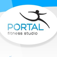 Логотип PORTAL (Фитнес-студия Владивостока)