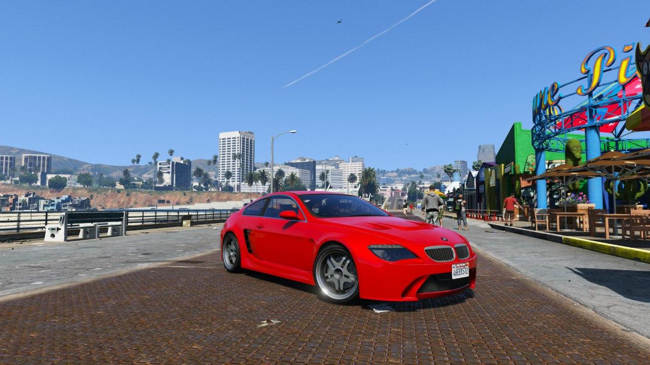 BMW M6 E63 для GTA V - Скриншот 2