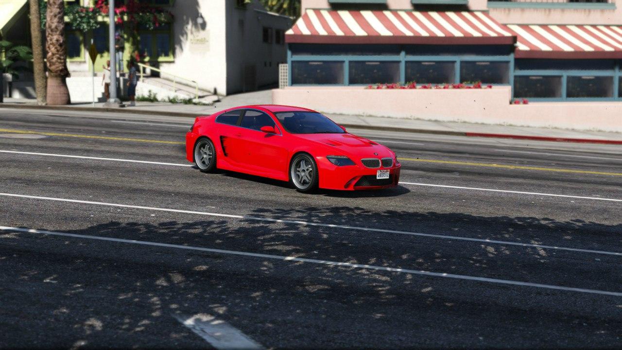 BMW M6 E63 для GTA V - Скриншот 1