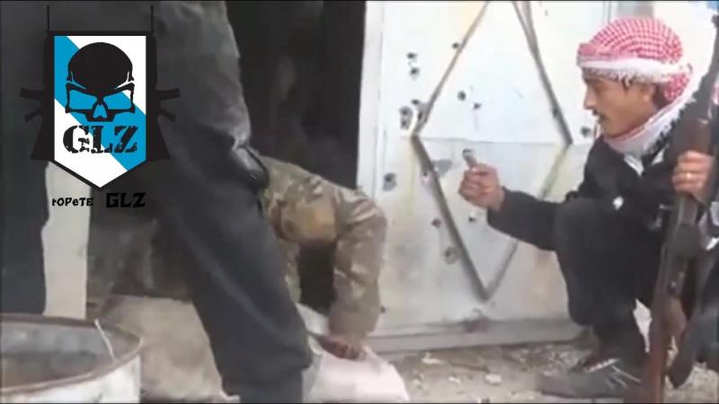 Siria HD - Damasco - Terroristas Capturan a un Soldado que quedo Aislado -17 Diciembre 2013