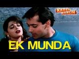 Ek Munda - Video Song Karan Arjun Salman Khan &amp Mamta Kulkarni Lata Mangeshkar
