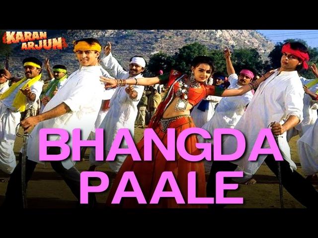 Bhangda Paale - Karan Arjun | Shahrukh Salman | Sadhana Sargam, Mohd. Aziz Sudesh Bhosle
