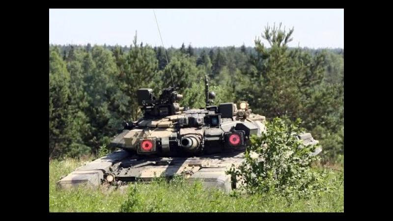 Убогий российский танк Т-90