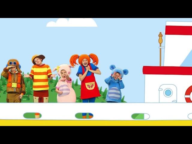КУКУТИКИ - Теплоходик - Развивающая обучающая песенка мультик для детей про теплоходик