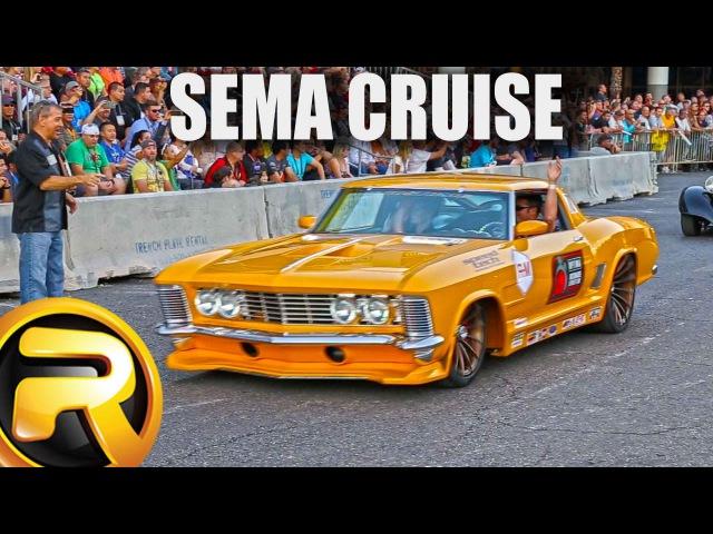Leaving SEMA Show 60 minutes of Custom Cars
