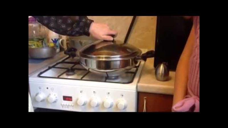 Здоровая,полезная и вкусная пища в сковороде Вок от iCook