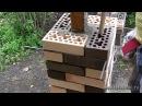 Кирпичная кладка столбика в одиночку Работа с керамикой © masterkladki