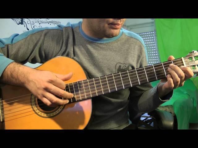 цыганочка на гитаре полный разбор (урок 3) легче всех