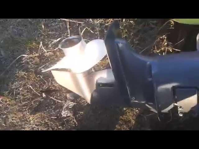 Рыбалка в Беларуси. Ямаха 9.9 Gmhs, раздушеный в 15. Замер скорости.
