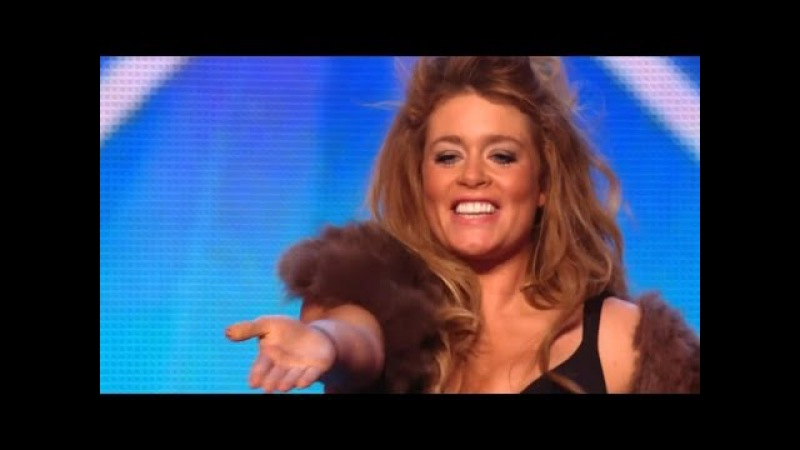 Britains Got Talent S08E02 Lettice Rowbotham Stunning Rock Violin Performance