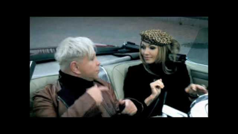 Две тени - Борис Моисеев и Анжелика Агурбаш