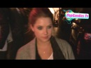 Ashley Benson Ryan Good greet a fan while exiting Chateau Marmont in WeHo