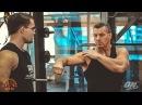 Александр Яшанькин и Артем Диянов тренировка травмированных плеч часть 1