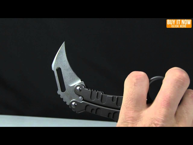 Quartermaster Knives QTR-9 K.I.T.T. Karambit Balisong Butterfly Knife Overview